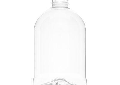 Fotografía de botella transparente